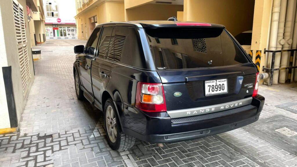 2008 Range Rover Sport HSE